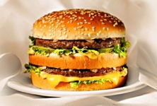 test du big mac sur MonMacdo